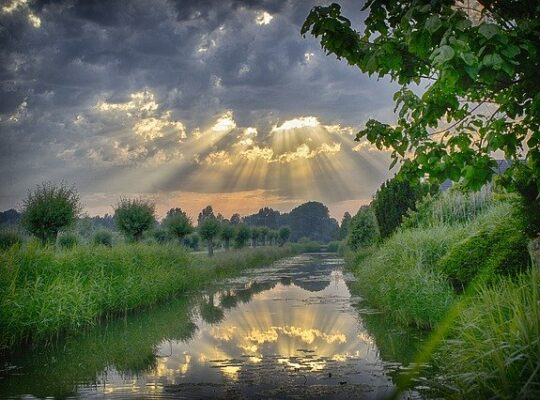 Sun Rays - image by Marco Roosink from Pixabay